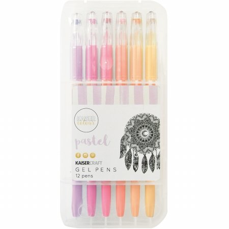 KaiserColour Gel Pens 12/Pkg-Pastel