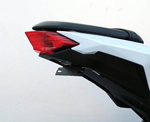 - TARGA Fender Eliminator Tail Kit 2013-2017 Kawasaki 300R 300 Ninja for bikes with an integrated tail light installed 22-472-X