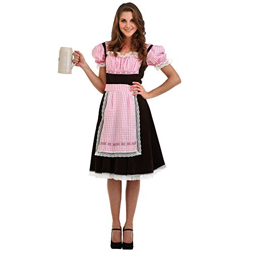Boo! Inc. Beer Maid Halloween Costume for Women | Oktoberfest (L) -