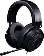 Razer Kraken Pro V2 - Oval Ear Cushions - Analog Gaming Headset for PC, Xbox One, Playstation 4, and Nintendo Switch - Black