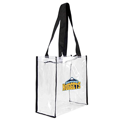 Square Nugget (Littlearth NBA Denver Nuggets Clear Square Stadium Tote)