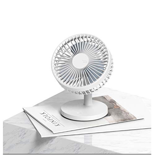 (TYX Crossdresser Desktop Portable Large Wind Fan Creative USB Small Fan Desktop Mini Silent Charging Fan)
