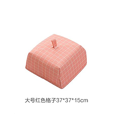 Dsstyle Foldable Food Insulation Cover Keep Warm Dustproof Pest Control Dish Cover Table Accessories Tools