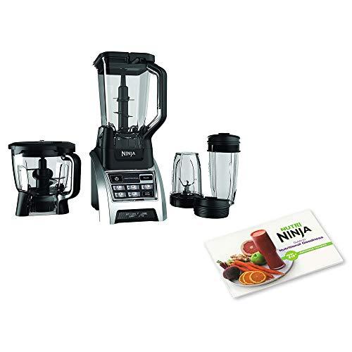 Ninja 1500W Professional Kitchen Blender System & Nutritional Goodness Cook ()