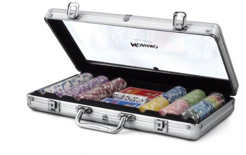 (Modiano Transparent Aluminium case-300Chips 14g)