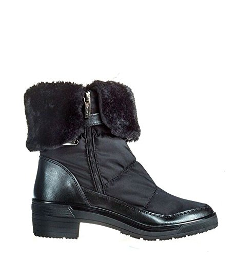 Weatherproof Faux Fur Black Boot - 38 ()