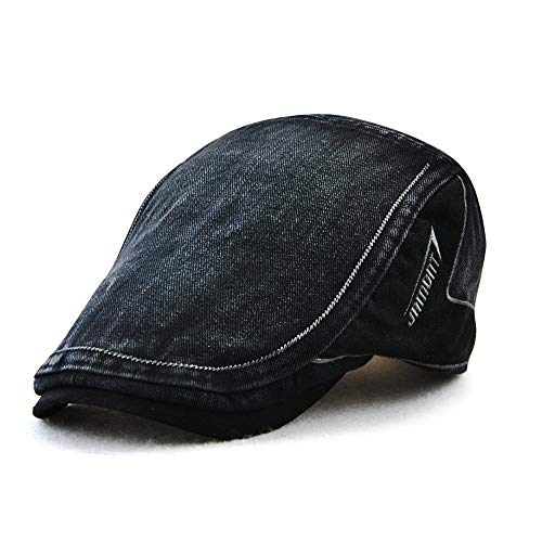 M MOACC Men Beret Hat Cotton Washed Buckle Adjustable for sale  Delivered anywhere in USA