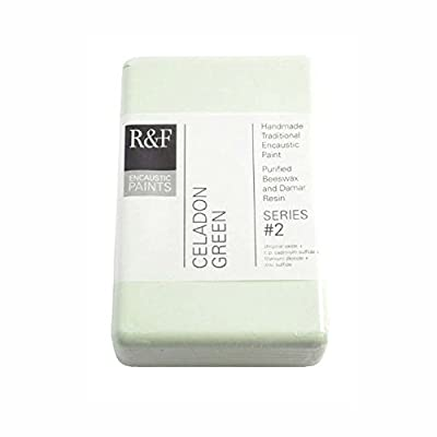 R&F Encaustic 333ml Paint, Celadon Green