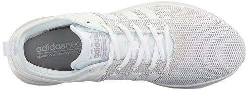 Adidas Originaler Mænds Cloudfoam Super Racer Løbesko, Hvid / Hvid / Lys Onix, 8,5 M Os