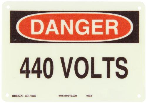 Fiberglass Safety Hazards : Brady premium fiberglass electrical hazard sign
