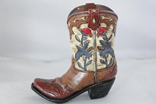 Cowboy Boot Vases - 6