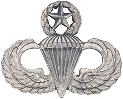 Army Master Parachute Badge Miniature