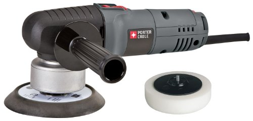 PORTER-CABLE Random Orbit Sander with Polishing Pad, 6-Inch (7346SP)