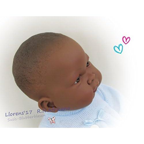 Llorens - Poupée reborn métisse sexué NOAH 45 cm