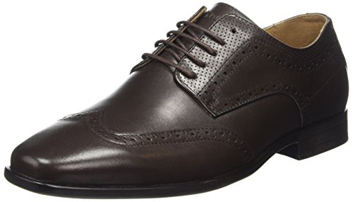 Hush Puppies Mens Lamont Maxx Oxford Vingspetsskor Us12.5 Brun