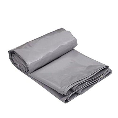 技術血煙突LIXIONG オーニング テント 両面防水 日焼け止め 増粘 断熱 カーポート 、6サイズ 、650G /㎡ 、0.6mm (色 : Gray, サイズ さいず : 4.8x5.8m)
