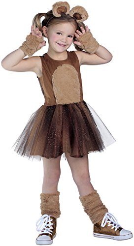 [Brown Bear Costume Tutu Dress] (Bear Head Costume Amazon)