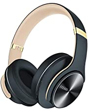 DOQAUS Wireless Headphones Over Ear, [52 Hrs Playtime] Bluetooth Headphones with 3 EQ Modes, Hi-Fi Stereo Foldable Headphones with Mic, Comfortable Earpads for iPhone/Laptop/Home Office (Shadow Gray)