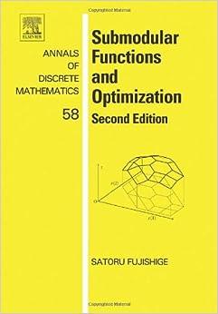 Ebook Como Descargar Libros Submodular Functions And Optimization Bajar Gratis En Epub
