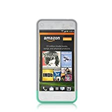 Ionic LUCID Slider Case for Amazon Fire Phone 2014 Smartphone (AT&T) (Gray/Green)