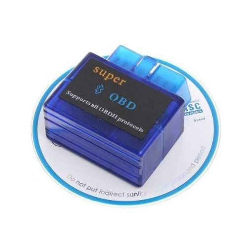 Price comparison product image DSstyle V1.5 Super Mini ELM327 Bluetooth OBD2 OBD-II CAN-BUS Diagnostic Scanner Tool