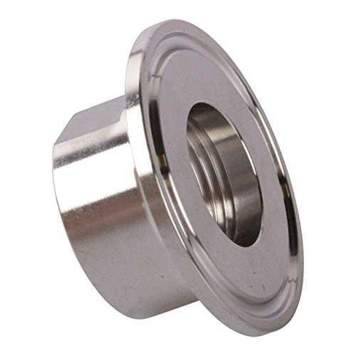 Glacier Tanks - NPT Adapter | Tri Clamp 1.5 inch x FNPT 3/4 inch (10 Pack)