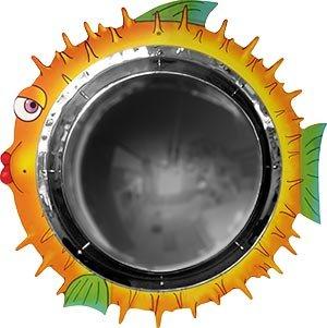 Anatex Blowfish Kids Children Room Decorative Play Room Mirror Wall Mount Panel