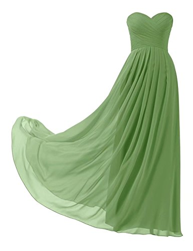 Abiball Lange Klee Brautjungfernkleider Elegant Chiffon Abendkleider 139 Ball Trägerlos Abschlusskleid dFYqf4wq