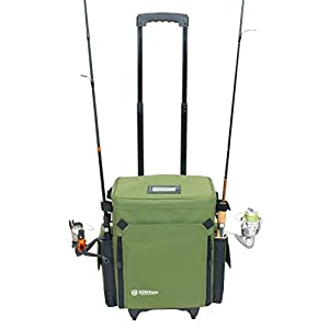 fishing tackle box on wheels