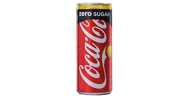 Coca-Cola Zero Sugar Lemon 25cl (pack de 24): Amazon.es ...