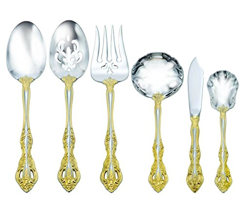 Oneida Golden Michelangelo 6 Piece Serving Set