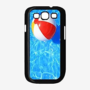 Beach Ball in Pool - Case Back Cover (Galaxy S3 - Plastic)