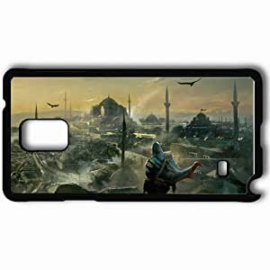 Personalized Samsung Note 4 Cell phone Case/Cover Skin Art City Black