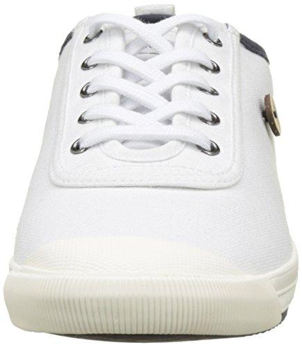 Faguo Oak - Botas Unisex adulto Blanc (White/Navy)