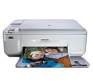 HP Photosmart C4585 All-in-One Printer - Impresora multifunción (inyección de tinta, 1000 páginas, 8.9 ppm, 5.3 ppm, 1200 x 1200 DPI, 7.7 cpm)