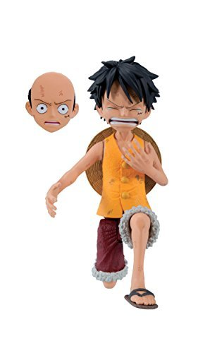 Banpresto One Piece 3.6-Inch Luffy Cry Heart Series Figure, Volume 3 by Banpresto