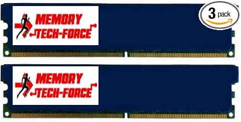Memory Tech-Force 6GB 3X 2GB DDR3 1800 MHz PC3 14400 DIMM CL9 240pin 1.65v