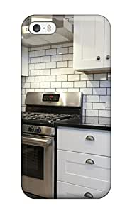 Hot Snap-on Modern Kitchen With White Subway Tile Backsplash Hard Cover Case/ Protective Case For Iphone 5/5s