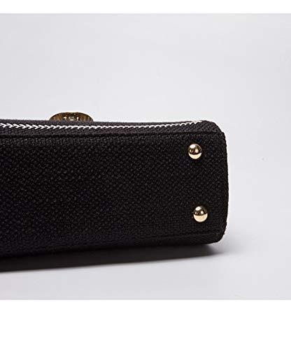Wild Retro Black Moda Female Square Bag Wybbag Velvet Bag Crossbody Chiudi Simple Small FwqdS06SxT
