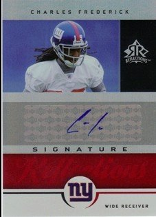 - 2005 Reflections Signature Reflections Red #SRFR Charles Frederick AUTO