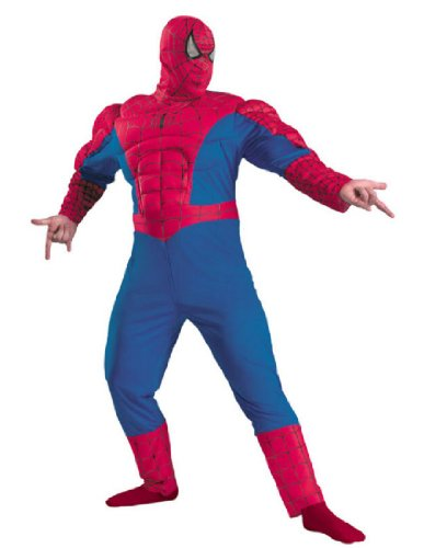 [Spiderman classic muscle chest] (Muscle Chest Spiderman Costumes)