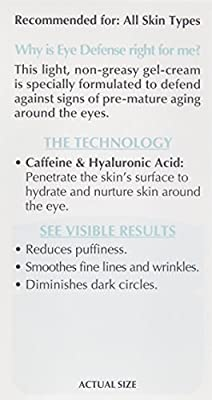 L'Oreal Paris Skincare Dermo-Expertise Eye Defense Eye Cream with Caffeine and Hyaluronic Acid For All Skin Types 0.5 oz.