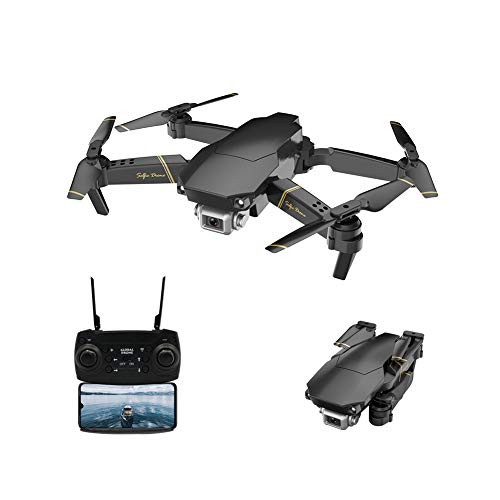 Adsvtech WiFi FPV Drone with 1080 HD Camera for Beginners Foldable RC Quadcopter, Double Shot Switching, 15 Mins Flight Time, Optical Flow Positioning