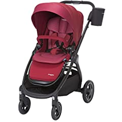 Families love the Adorra Stroller. It has the supreme comfort you want to provide your child and all the features you've come to expect from a premium Maxi-Cosi product. You'll enjoy taking strolls with your newborn in carriage mode which fea...