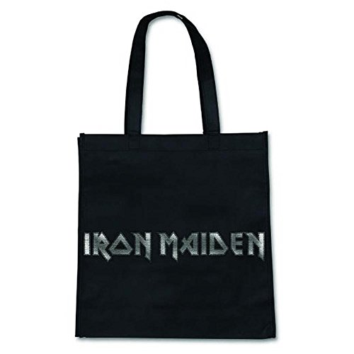Shopper Tote Classic IRON Official Eco Logo Shopping Bag MAIDEN 5Fppaw