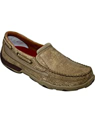 Twisted X Ladies Dusty Tan SlipOn Driving Moc