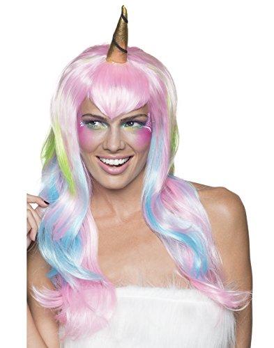 Rubie's Women's Unicorn Fairy Wig, Pink/Blue, One -