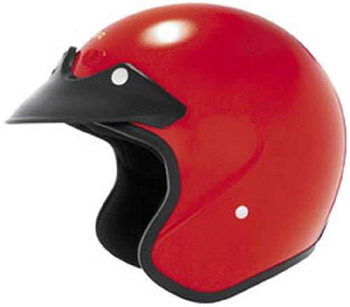 Cyber Helmets 2013 Cyber U-6 Open-Face Motorcycle Helmets - Red - 2X-Small ()