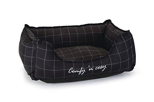 Beeztees-Comfy-Panier-pour-Chat-Noir-48-x-37-x-16-cm