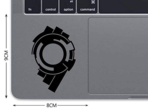Ghost in The Shell Decal MacBook Sticker MacBook Decal Trackpad Decal  Laptop Decal Laptop Sticker Touchpad Sticker Air Pro Retina